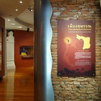 Photo taken at Suphan Buri National Museum by lim s. on 9/14/2014