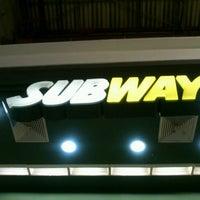 Photo taken at Subway by Danilo O. on 10/12/2012