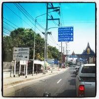 Photo taken at พนัสนิคม by nongies r. on 1/18/2014