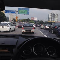Photo taken at federal highway by Syahmi A. on 3/18/2015