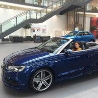 Photo taken at Audi by Valentina L. on 6/1/2015