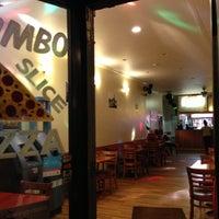 Photo taken at Jumbo Slice Pizza by Faiz S. on 10/4/2012