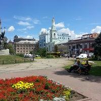 Снимок сделан в Контрактовая площадь пользователем Aleksander R. 7/18/2013