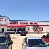 Photo taken at James Coney Island by Javier G. on 6/29/2013