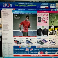 Photo taken at Tennis Express by Francisco R. on 10/12/2012