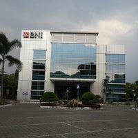 Photo taken at Bank BNI Cabang Jombang by Okaria S. on 10/6/2013