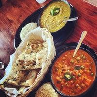 Photo taken at Tarka Indian Kitchen by Rick M. on 12/9/2012