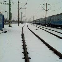 Photo taken at Rákosrendező vasútállomás by Tamás B. on 2/12/2013