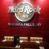 Photo taken at Hard Rock Cafe Niagara Falls USA by Noelle K. on 10/21/2012