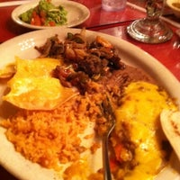 Photo taken at Jacala Mexican Restaurant by Bernice I. on 10/26/2012
