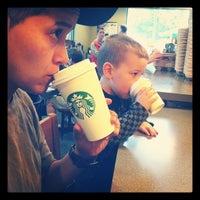 Photo taken at Starbucks by Sabrina S. on 10/14/2012