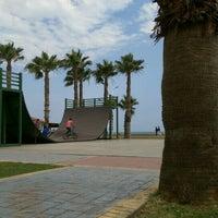 Photo taken at Mersın Skateboard park by Hilal S. on 6/14/2015