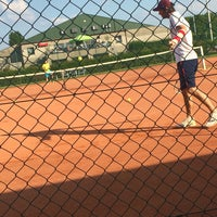 Photo taken at TCM   Tennisclub Merelbeke by Robin C. on 6/24/2016