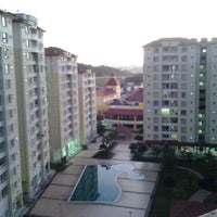 Photo taken at Limkokwing hostel by wawa z. on 2/1/2013