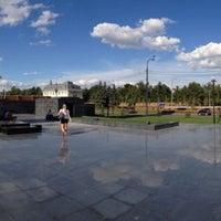 Photo taken at PG Skate Plaza by Dmitry .. on 7/19/2013