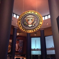 Photo taken at Jimmy Carter Presidential Library & Museum by Nicolle D. on 6/27/2014