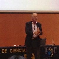 Photo taken at Auditorio Alberto Barajas by Pamela E. on 10/18/2012