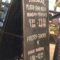 Photo taken at Starbucks by JannahMDISA on 10/18/2012