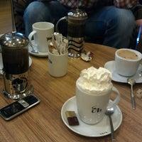 Photo taken at Coffeemania by Ebru C. on 3/22/2013
