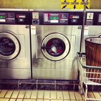 Photo taken at Today Washateria by Merari T. on 12/10/2012