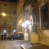 Photo taken at Palazzo Grazioli by Antonio D. on 10/7/2012