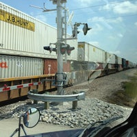 Photo taken at Rail Crossing by Mike D. on 5/17/2013