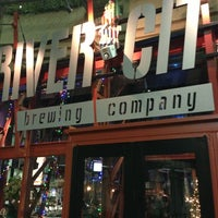 Photo taken at River City Brewing Company by Andrew D. on 1/1/2013