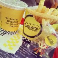 Photo taken at Baguette & Baguette Le Bardo by Amine B. on 6/27/2014