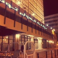 Photo taken at El Hana International Hotel Tunis by Amine B. on 12/29/2012