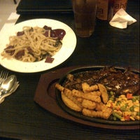Photo taken at Alibaba Steak by Maria N. on 2/16/2013
