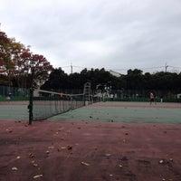 Photo taken at 手代木公園テニスコート by Hiroyuki K. on 11/9/2013