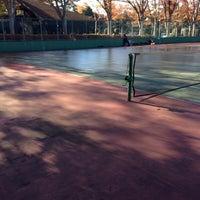Photo taken at 手代木公園テニスコート by Hiroyuki K. on 11/23/2013