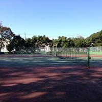 Photo taken at 手代木公園テニスコート by Hiroyuki K. on 10/20/2012