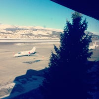 Photo taken at Vail Valley Jet Center (EGE) by Eric D. on 1/18/2013