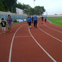 Photo taken at Stadion Pahoman by August P. on 7/7/2013