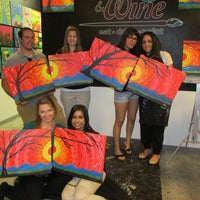 Photo taken at Design And Dine  Eat• Drink• Paint by Design And Dine  Eat• Drink• Paint on 7/31/2013