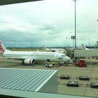 Photo taken at Brisbane Airport (BNE) by Jessie W. on 1/21/2013