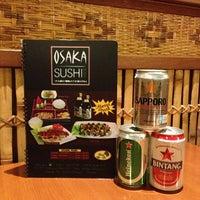 Photo taken at Osaka Sushi by Wira P. on 9/3/2013