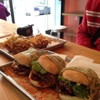 Photo taken at Super Duper Burger by elly on 5/5/2013