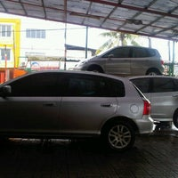 Photo taken at Arini Car Wash by Ellina A. on 11/24/2012