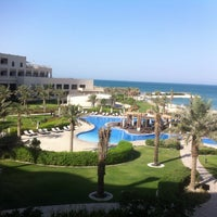 Photo taken at Sofitel Bahrain Zallaq Thalassa Sea & Spa by Mazen M. on 6/23/2013
