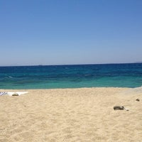 Photo taken at Plaka Beach by Frank O. on 7/3/2013