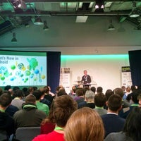 Photo taken at DroidconUK by Danny R. on 10/31/2014