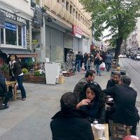 Photo taken at Teleffon Çay Evi by Guvener K. on 4/19/2014