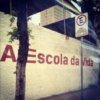 Photo taken at Colégio Batista Santos Dumont by Messias B. on 10/12/2012