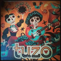 Photo taken at Tuzo Mexican Kitchen by Paddy O. on 8/21/2013