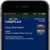 Photo taken at Cinéma Cineplex Odeon Ste-Foy by Steve B. on 3/11/2017