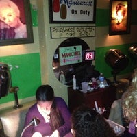 Photo taken at Beauty Bar by Michael Y. on 2/10/2013