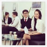 Photo taken at Банк Москвы by Ruslan on 3/24/2014