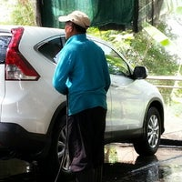 Photo taken at car wash by Aew S. on 3/12/2014